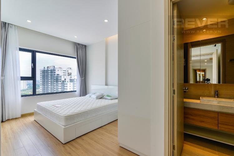 Phòng Ngủ 1 Cho thuê căn hộ New City Thủ Thiêm tầng trung, 3PN đầy đủ nội thất, view hồ bơi