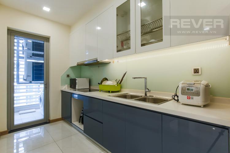 Phòng Bếp Bán căn hộ Vinhomes Central Park tầng trung tháp Park 3, 2PN 2WC, đầy đủ nội thất cao cấp