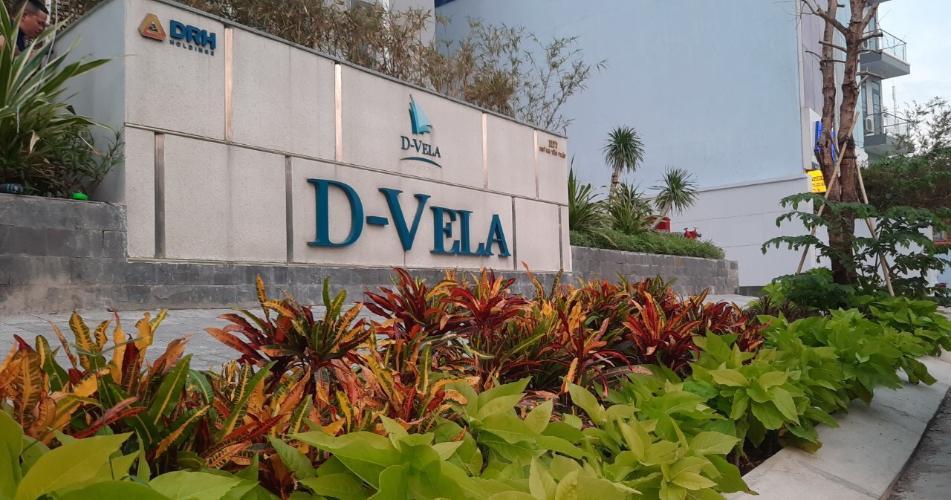 cảnh quan chung của D-Vela Bán căn hộ D-Vela diện tích 70m2, nội thất cơ bản, vị trí thuận lợi.