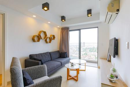 Căn hộ Masteri Thảo Điền tầng cao T3 thiết kế hiện đại, full nội thất