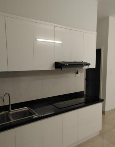Phòng bếp Luxcity Quận 7 Căn hộ Luxcity tầng thấp, nội thất cơ bản, 2 phòng ngủ.