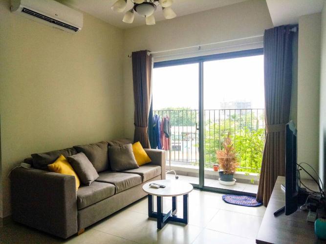 phòng khách căn hộ Masteri Thảo Điền Căn hộ Masteri Thảo Điền view sông, đầy đủ nội thất sang trọng.