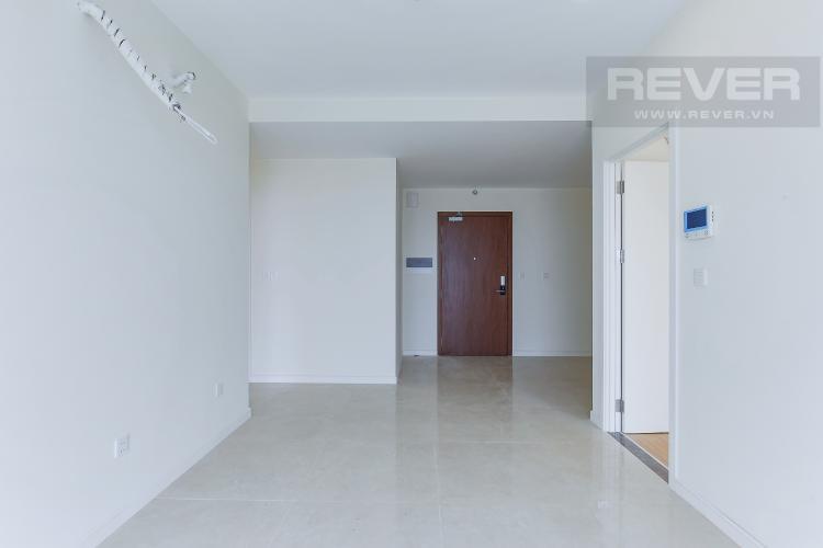 Phòng Khách Căn hộ Masteri Millennium tầng cao, 2 phòng ngủ, view sông Bến Vân Đồn