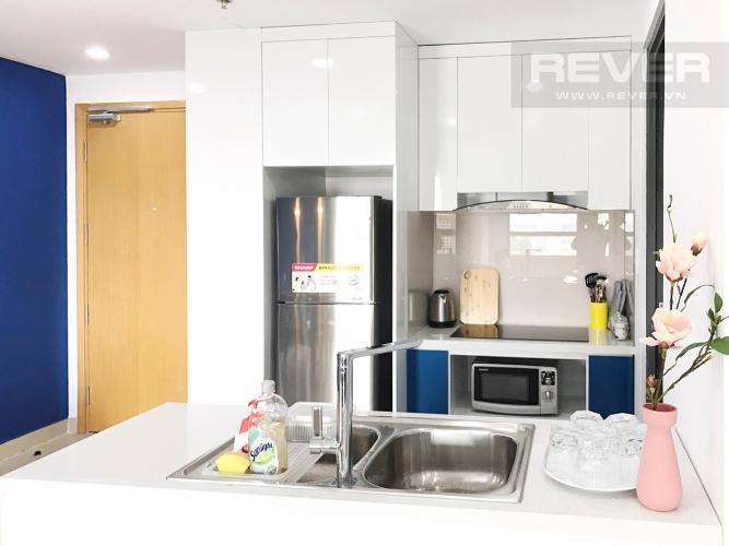 Khu Vực Bếp Căn góc Masteri Thảo Điền 2 phòng ngủ tầng trung T3 ful nội thất