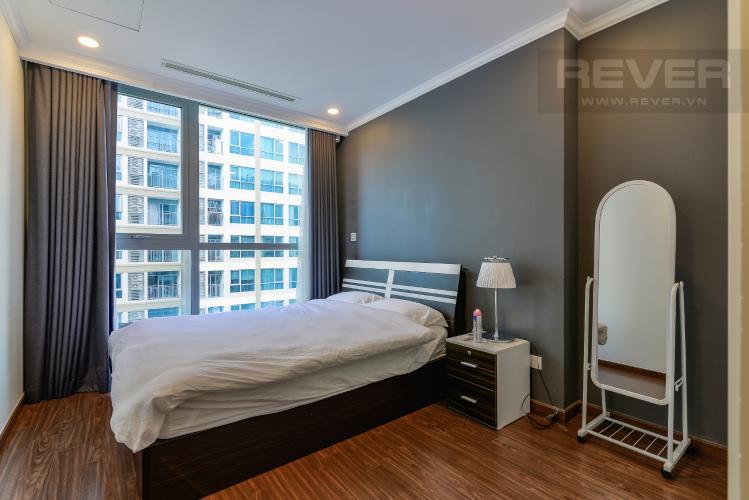 Phòng Ngủ 2 Căn hộ Vinhomes Central Park tầng cao, Landmark 6, 2PN đầy đủ nội thất