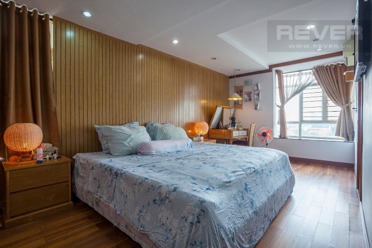 Phòng Ngủ 1 Căn hộ Hoàng Anh River View 4 phòng ngủ block C nội thất đầy đủ