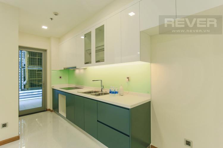 Phòng Bếp Căn hộ Vinhomes Central Park tầng thấp Park 2, 3 phòng ngủ, view sông