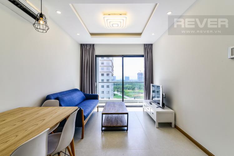 Phòng Khách Căn hộ New City Thủ Thiêm tầng trung 1 phòng ngủ view sông