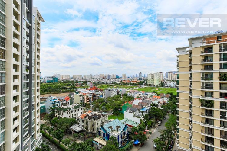 View Căn góc Estella Heights tầng trung T2 nhà mới 100%, chưa ở