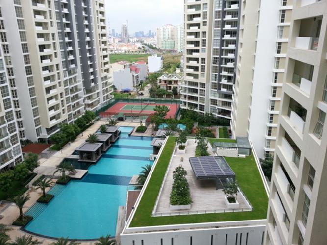 tiện ích căn hộ Sunrise Riverside Cho thuê căn hộ Sunrise Riverside, view thành phố và sông thoáng mát.