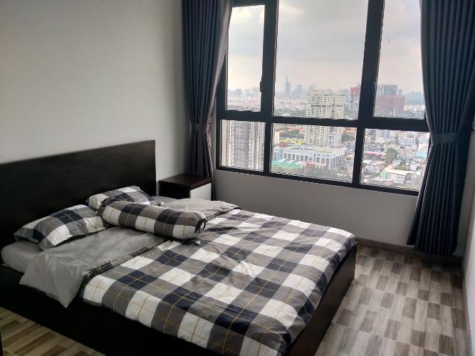 phòng ngủ căn hộ riviera point Căn hộ tầng cao Riviera Point bàn giao đầy đủ nội thất, view thành phố.