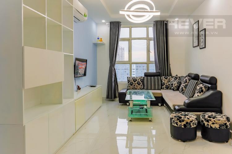 Phòng Khách Căn hộ Hoàng Anh Thanh Bình 3 phòng ngủ tầng trung full nội thất
