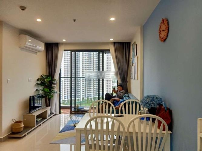 Phòng khách Vinhomes Grand Park Quận 9 Căn hộ Vinhomes Grand Park tầng trung, view thành phố.