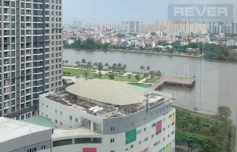 View Bán căn hộ Saigon Pearl 3 phòng ngủ, tháp Ruby 2, đầy đủ nội thất, căn góc view sông