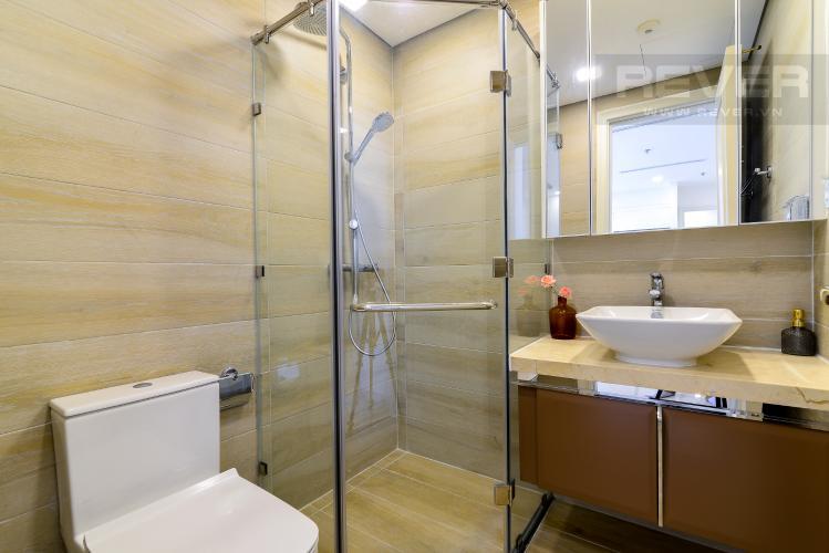 Phòng Tắm 2 Cho thuê căn hộ Vinhomes Golden River 2PN, tầng cao, tháp The Aqua 1, đầy đủ nội thất