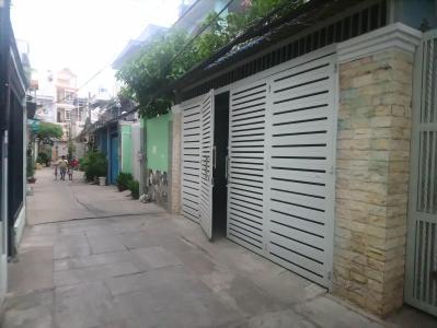 Bán nhà hẻm Huỳnh Tấn Phát, Quận 7, sổ hồng, cách đường Phú Thuận 200m