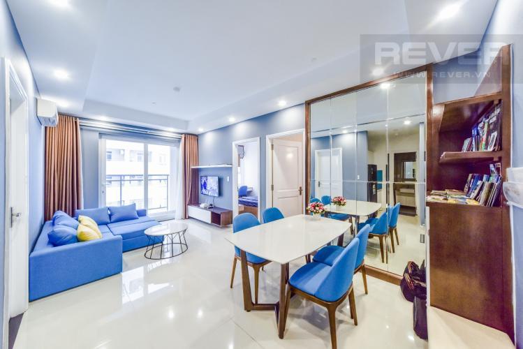 Phòng Ăn Cho thuê căn hộ Florita 3 phòng ngủ, đầy đủ nội thất