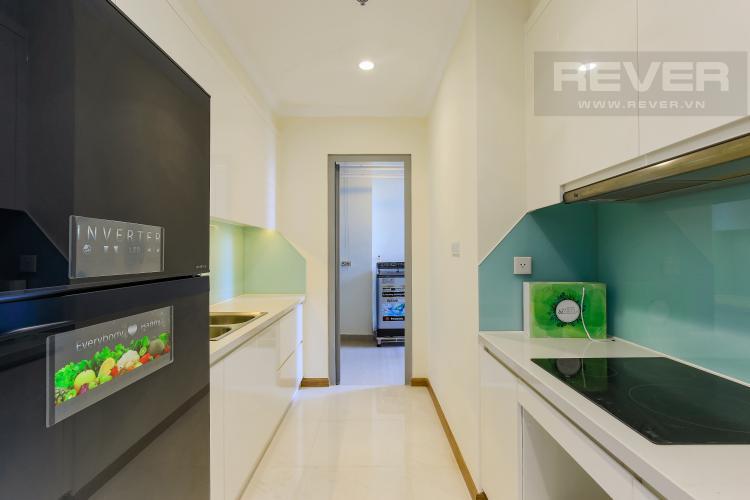 Phòng Bếp Căn hộ Vinhomes Central Park 3 phòng ngủ tầng cao L2 đầy đủ nội thất