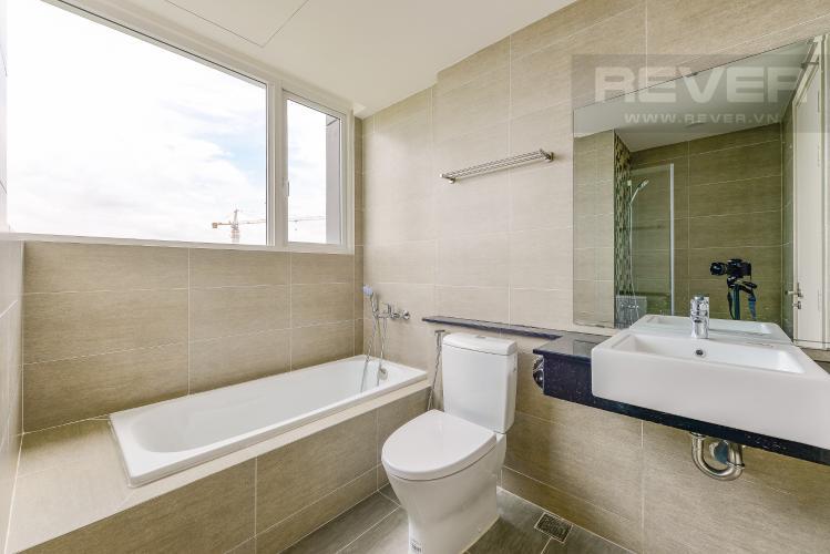 Phòng tắm 2 Căn hộ Vista Verde tầng cao tháp T1, 3 phòng ngủ, nội thất cơ bản, view sông