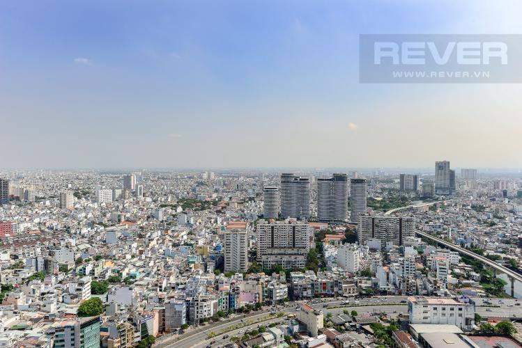 View Bán căn hộ Vinhomes Golden River 1PN, tầng cao, tháp The Aqua 1, view thành phố