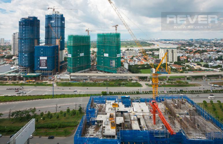 View Căn góc Estella Heights tầng cao tháp T2 mới bàn giao, view sông