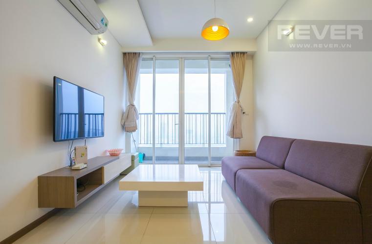 Phòng Khách Căn hộ Thảo Điền Pearl 2 phòng ngủ tầng cao tháp B view sông