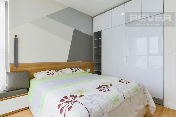 Phòng Ngủ 2 Căn hộ Masteri Millennium tầng cao, 3PN, đầy đủ nội thất, view kênh Bến Nghé