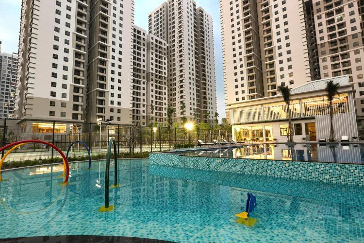 Saigon South Residence Căn hộ Saigon South Residence nội thất đầy đủ, cửa hướng Tây.