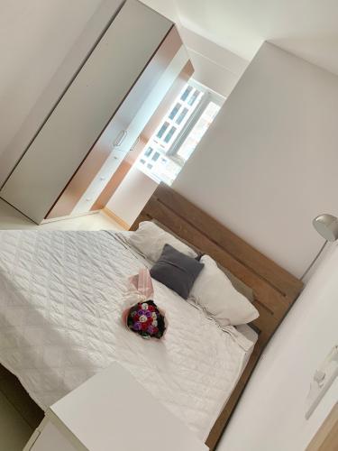 Phòng ngủ Jamona City Quận 7 Căn hộ Jamona City tầng 8, view thành phố, nội thất đầy đủ.