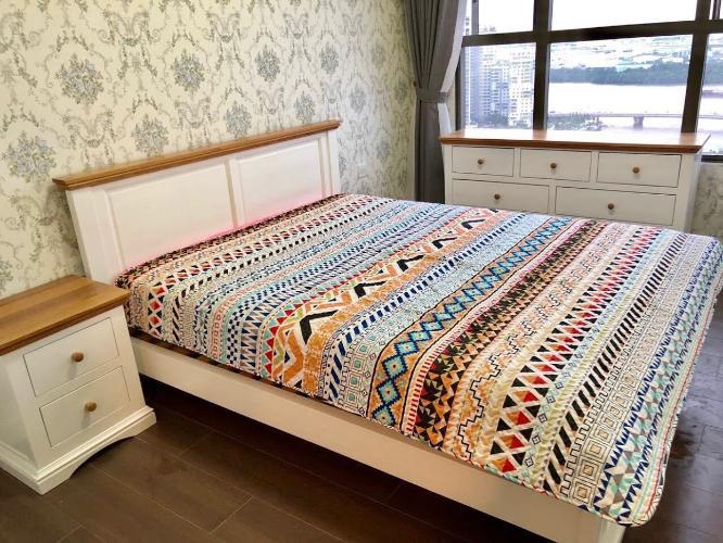 Cho thuê căn hộ 2 phòng ngủ, nội thất đầy đủ The Sun Avenue