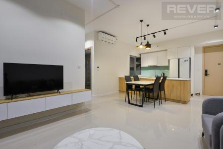 Bán căn hộ 2 phòng ngủ Palm Heights, diện tích 85m2, đầy đủ nội thất, có ban công thông thoáng