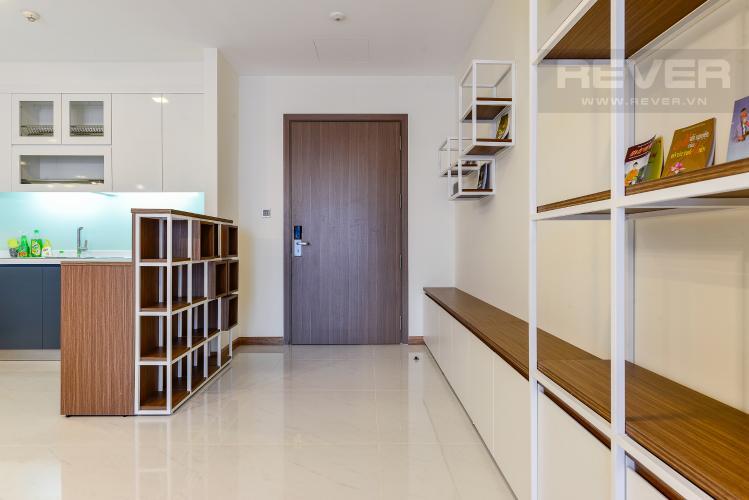 bếp Căn hộ Vinhomes Central Park tầng cao Park 6 nội thất đầy đủ