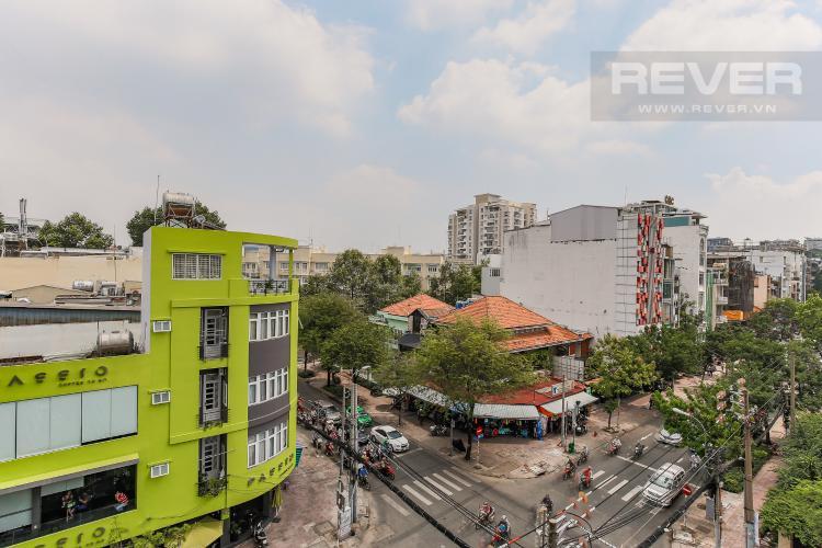 View Căn hộ Saigon Pavillon 3 phòng ngủ tầng thấp đầy đủ nội thất