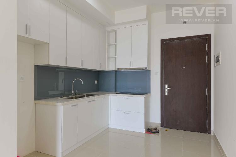 Bếp Cho thuê căn hộ The Sun Avenue 1PN, tầng cao, nội thất cơ bản, view sông thoáng mát