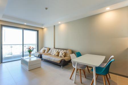 Căn hộ The Gold View 2 phòng ngủ tầng thấp A3 view sông