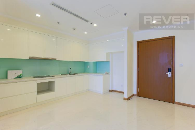 Phòng Bếp Căn hộ Vinhomes Central Park 2 phòng ngủ tầng cao L3 view sông