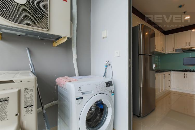 Logia Căn hộ RiverGate Residence 3 phòng ngủ tầng cao tháp A hướng Tây Bắc