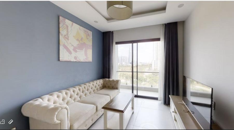 Cho thuê căn hộ New City Thủ Thiêm 2PN, tầng thấp, đầy đủ nội thất, ban công Tây Bắc