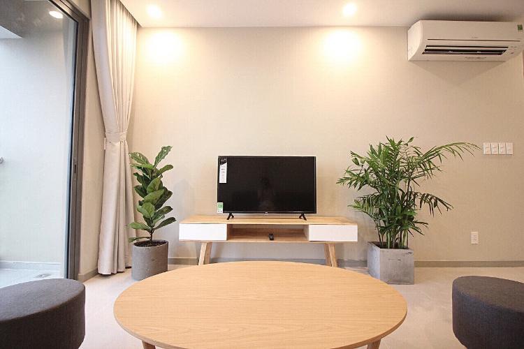 Phòng khách căn hộ THE GOLD VIEW Bán căn hộ The Gold View 2PN, tầng cao, đầy đủ nội thất, view thành phố
