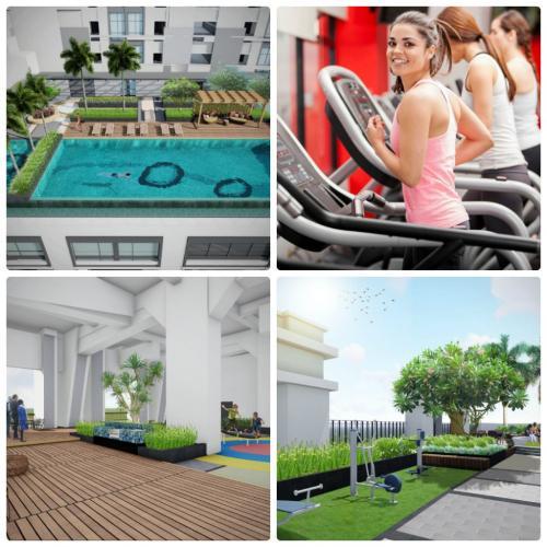 Tiện ích căn hộ SaiGon Royal , Quận 4 Căn hộ Saigon Royal view nội khu tầng cao đón gió thoáng mát.