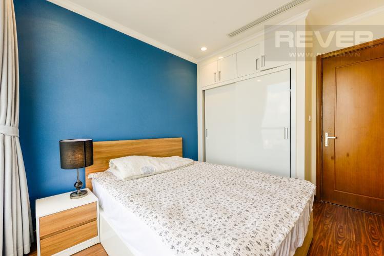 Phòng ngủ 3 Căn hộ Vinhomes Central Park tầng cao, 2PN đầy đủ nội thất, view đẹp