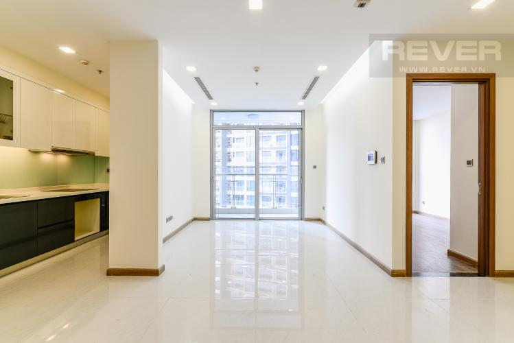 Phòng Khách Căn hộ Vinhomes Central Park tầng thấp Park 3 view hồ bơi nội khu