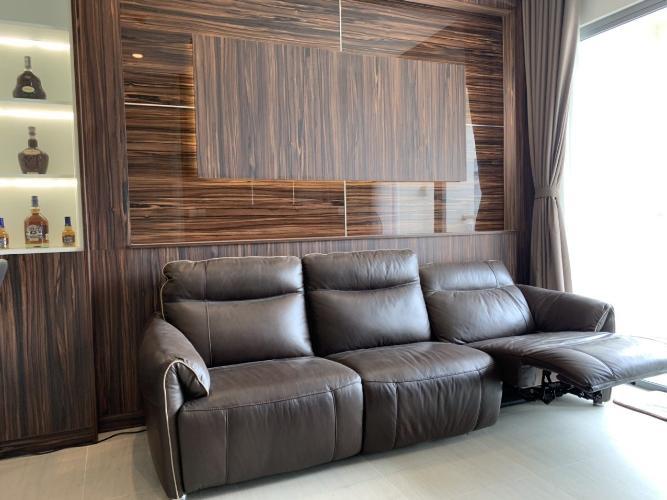 Phòng khách Diamond Island Quận 2  Căn hộ Đảo Kim Cương tầng thấp, 1 phòng ngủ, đầy đủ nội thất.