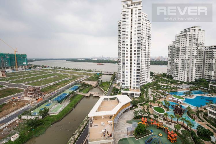 View Bán căn hộ Diamond Island - Đảo Kim Cương 1PN, tầng trung, view sông thoáng mát