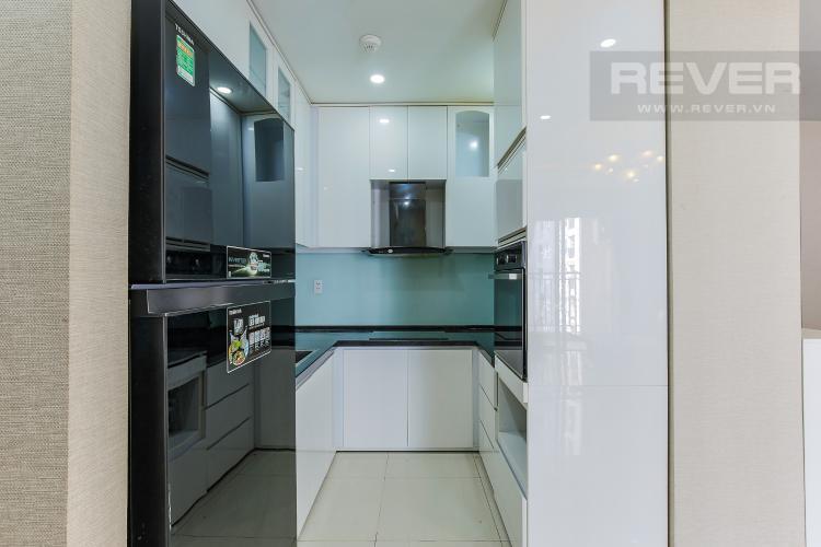 Phòng Bếp Căn hộ Galaxy 9 3 phòng ngủ tầng thấp nội thất đầy đủ