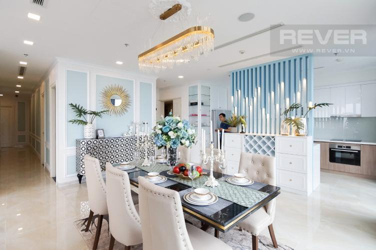 Phòng Khách Cho thuê căn hộ Vinhomes Golden River 4PN, tầng cao, đầy đủ nội thất, view trực diện sông Sài Gòn