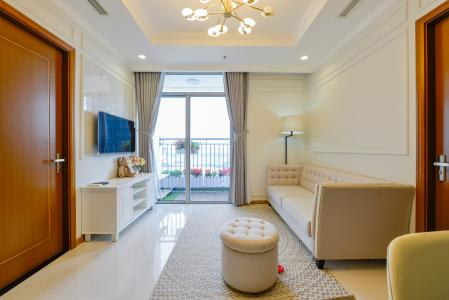 Căn hộ Vinhomes Central Park 3 phòng ngủ, tầng cao L3, nội thất đầy đủ