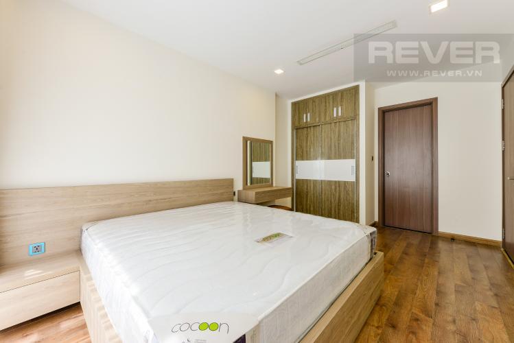 Phòng ngủ 1 Căn hộ Vinhomes Central Park tầng cao, tháp Park 4, 2PN nội thất đầy đủ, view sông
