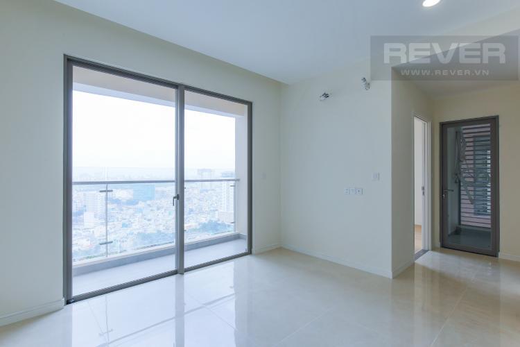 Phòng Khách Căn hộ Masteri Millennium tầng cao, tháp A, 2 phòng ngủ, view hồ bơi