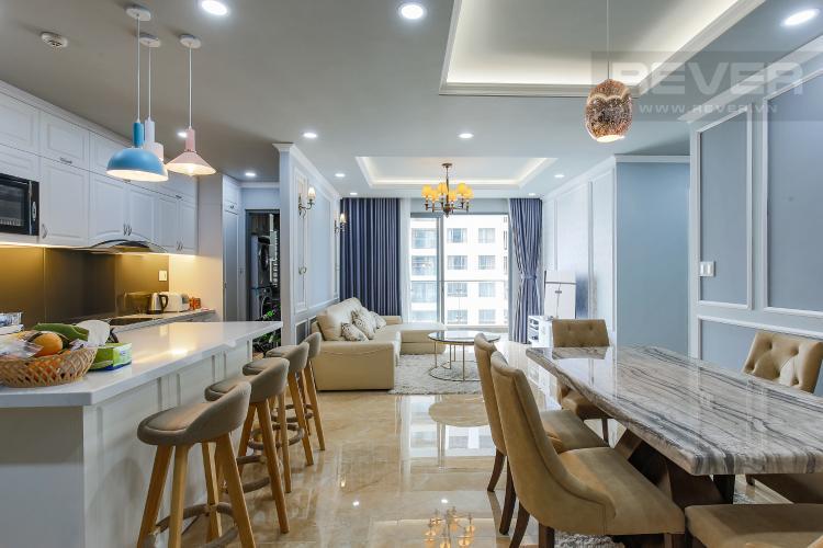 Phòng Bếp Căn hộ The Gold View 3 phòng ngủ tầng cao A3 nội thất đầy đủ